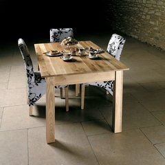 Baumhaus MOBEL Oak Dining Table 4/6 Seater (150cm)