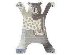 Brink & Campman Childerns Brown Bear Rug