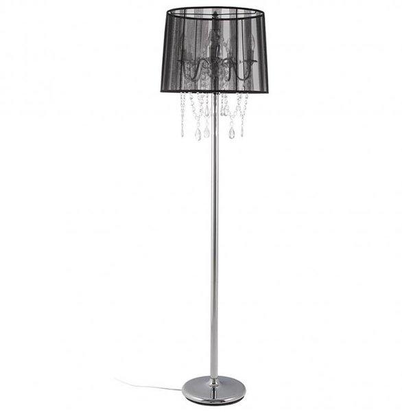 Kokoon lounge black chandelier floor lamp bright breezy kokoon lounge black chandelier floor lamp mozeypictures Images