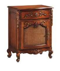 ADELE Antique Wax French Bedside