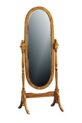 HILTON Oval Cheval Mirror