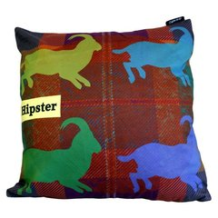 Four Mountain Goats Hipster Cushion