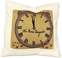 Never Enough Time Cushion