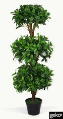 Extra Large Super Realistic Artificial 120cm 3 Ball Bay Topiary Tree Indoor Outdoor