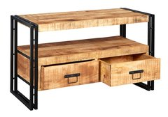 Indian Hub COSMO Industrial Style Tv Cabinet Stand
