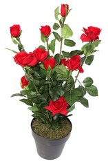 Artificial Plant 76cm Rose Flower Tree