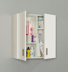 BREEZE Multi Purpose White Storage Wall Cupboard