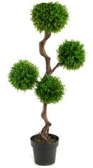 Artificial Plant Large 110cm UV Boxwood Topiay Tree