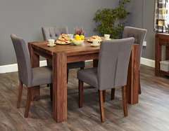Baumhaus WALNUT Dining Table 4 Seater