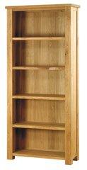 Baumhaus ASTON Oak Large Open Bookcase