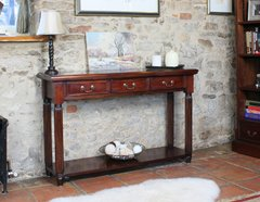 Baumhaus LA ROQUE Console / Hall Table With Drawers