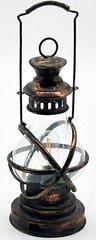 Antique Copper Garden Lantern 48cm