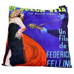 La Dolce Vita Retro Cinema Cushion