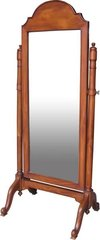 Wooden Cheval Mirror