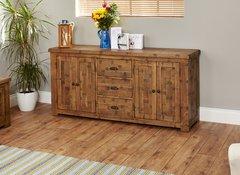 Baumhaus HEYFORD Rough Sawn Oak Large Sideboard