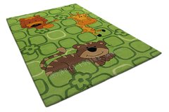 Arte Espina Childrens Jungle Green Rug