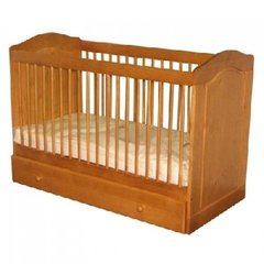 Cumbria Range Solid Pine Baby Cot