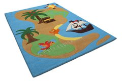 Arte Espina Childrens Pirate Island Rug