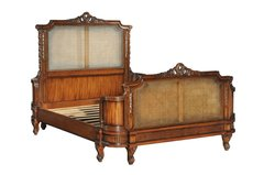 ADELE Antique Wax French Bed