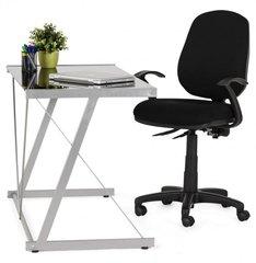 Kokoon Tastiera Office Table Desk Black