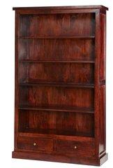 Indian Hub JAIPUR Dark Mango Large Bookcase