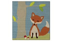 Arte Espina Childrens Fox Rug