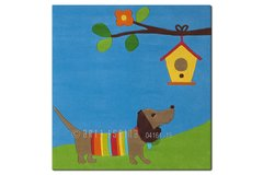 Arte Espina Childrens Dog Rug