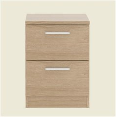 CYPRESS 2 Drawer Bedside Table / Drawers