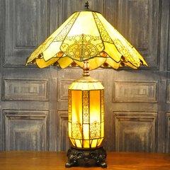 "Macintosh Style Tiffany Lamp 20"""