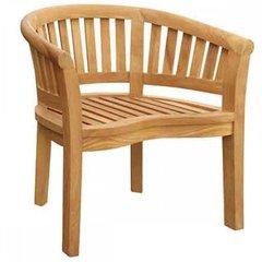 Bowood Teak Curved Garden Chair