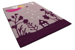 Arte Espina Childrens Fairy Purple Rug