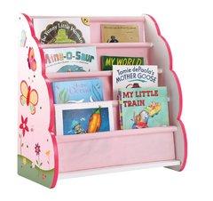 Butterfly Buddies Pink Book Shelves Display