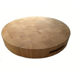 Extra Large Round Butcher's Block Chopping Board