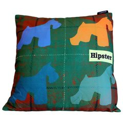 Four Scotty Dogs Hipster Cushion