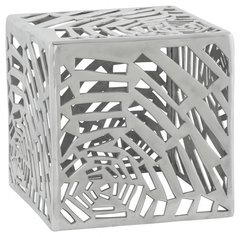 KOKOON Tribal Low Stool / Side Table Polished Aluminium