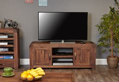 Baumhaus SHIRO WALNUT Widescreen Television Cabinet