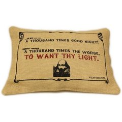 To Want Thy Light Cushion