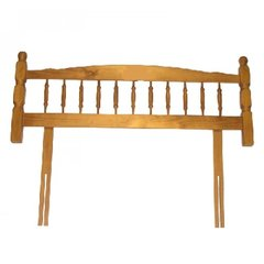 Malvern SOLID Pine Wood Headboard Spindle Design Double 4' 6'