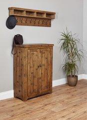 Baumhaus HEYFORD Rough Sawn Oak Shoe Cupboard