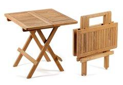 Square Teak Picnic Table