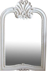 Rectangular Mirror with Shell Design