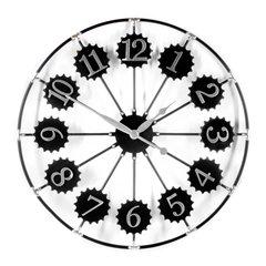Retro Metal Wall Clock 70cm Diameter