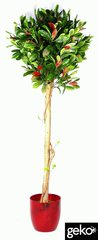 Artificial Tree X-Large 125cm Variegated Ficus Topiary