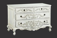 ADELE Antique White French Chest of Drawers