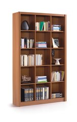 BREEZE Nut Brown Triple Bookcase Squares