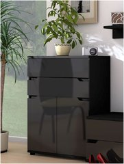 ROSE Black Gloss Compact Sideboard