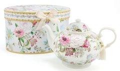 Fine China Floral Bouquet Teapot
