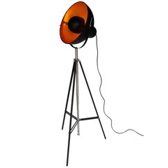 Large Tripod Spotlight Floor Lamp with Inner Shade