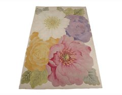 Tropical Multi Coloured Flower Rug