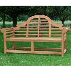 3 Seater Lutyen Style Teak Garden Bench 150cm